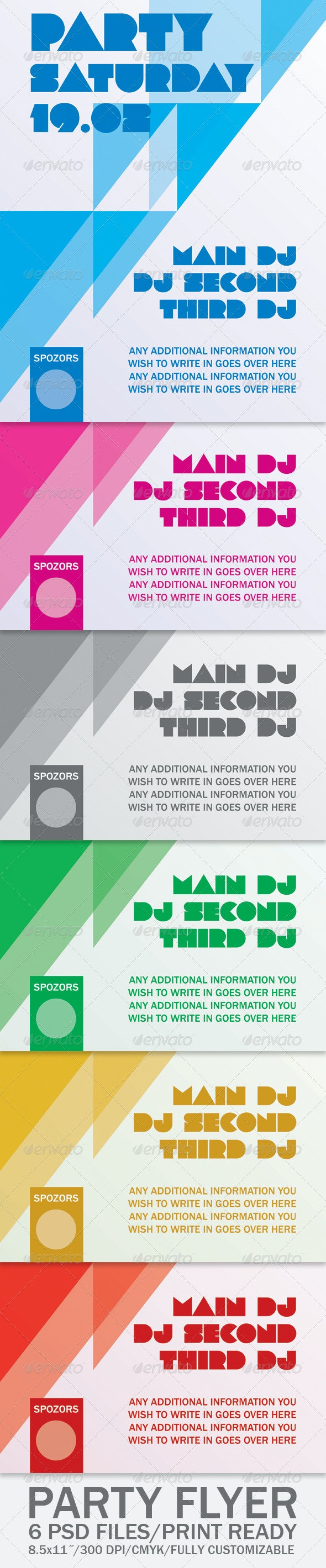 Party Flyer - Clubs & Parties Events