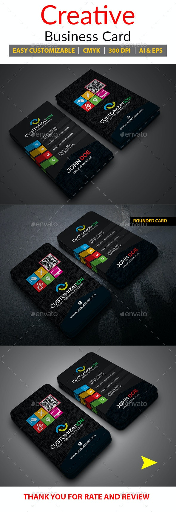 Creative Business Card_Vol-02 - Creative Business Cards