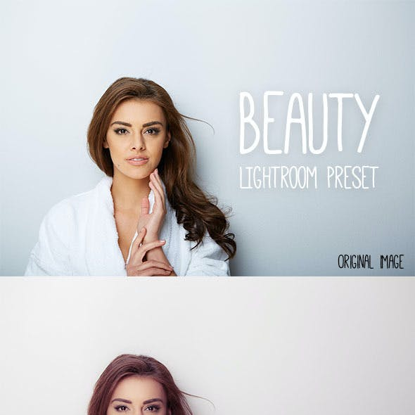 Beauty Lightroom Preset for Magazines