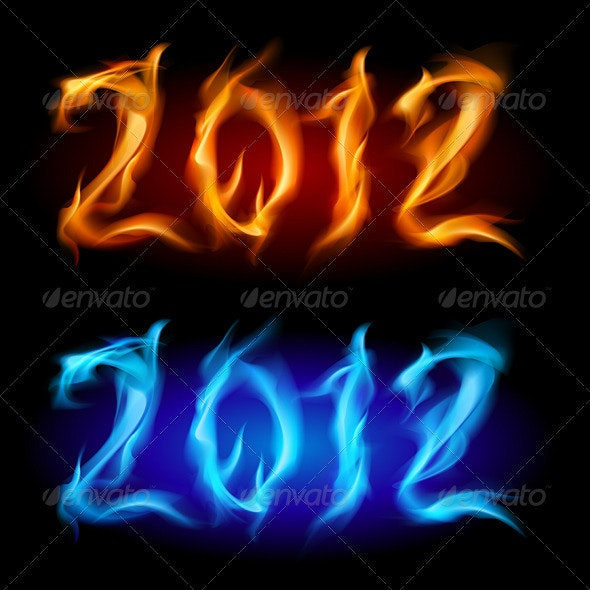 Fire year - Characters Vectors