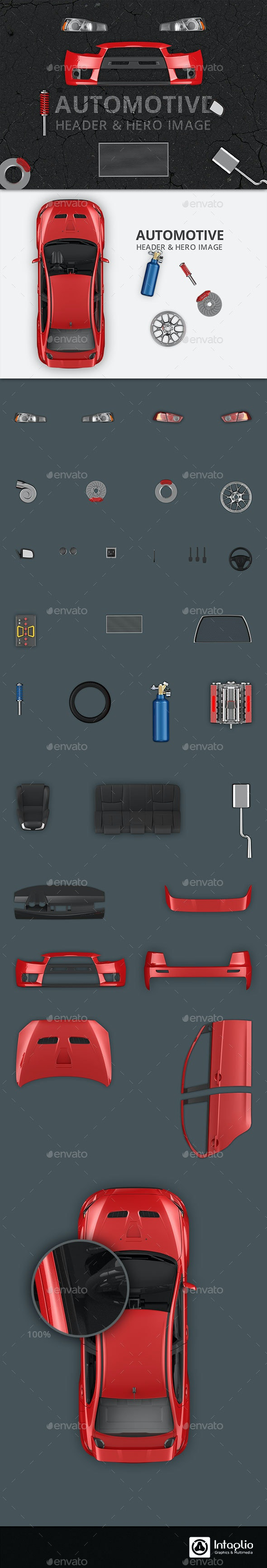 23 Best Hero Image, Scene Maker & Mockup Generator - GraphicRiver for February 2019