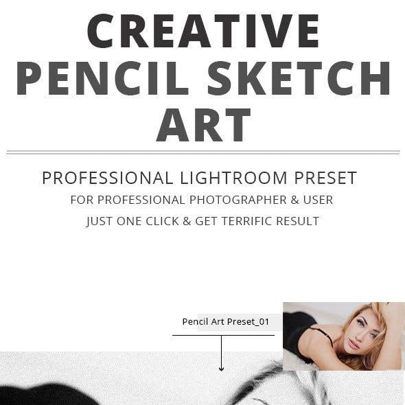 Creative Pencil Sketch Art