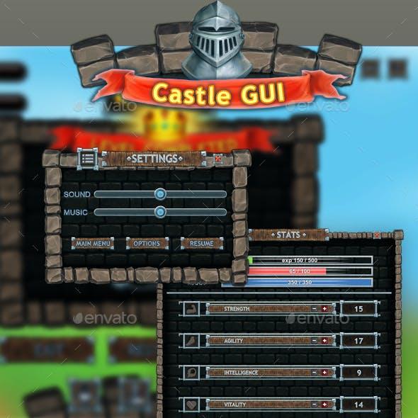 Castle Gui Set