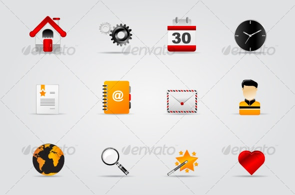 Melo Icon set. Website and Internet icon #1 - Web Icons