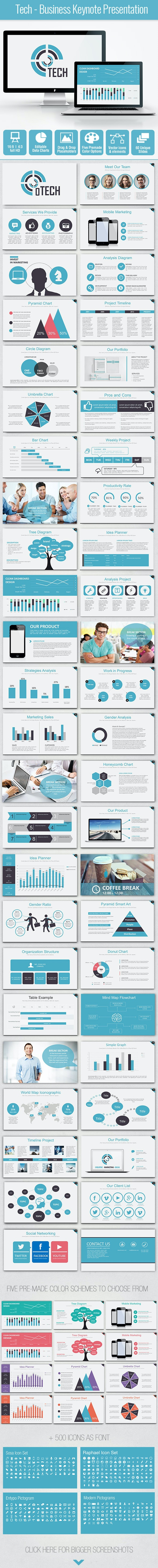 Tech - Business Keynote Presentation - Business Keynote Templates