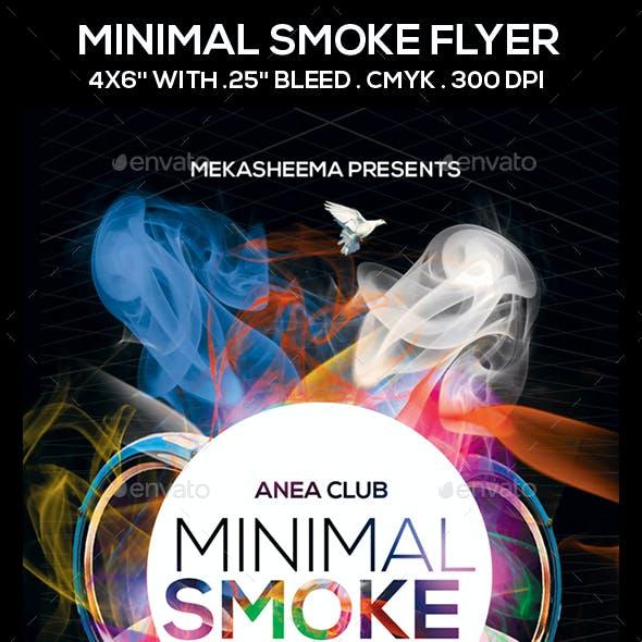 Minimal Smoke Flyer