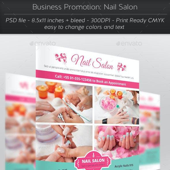 Business Promotion: Nail Salon