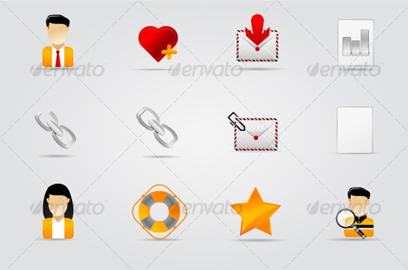 Melo Icon set. Website and Internet icon #7 - Web Icons