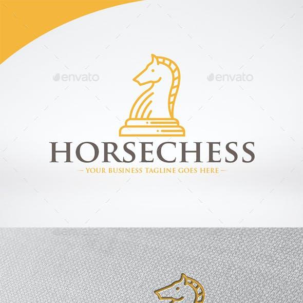 Horse Chess Logo Template