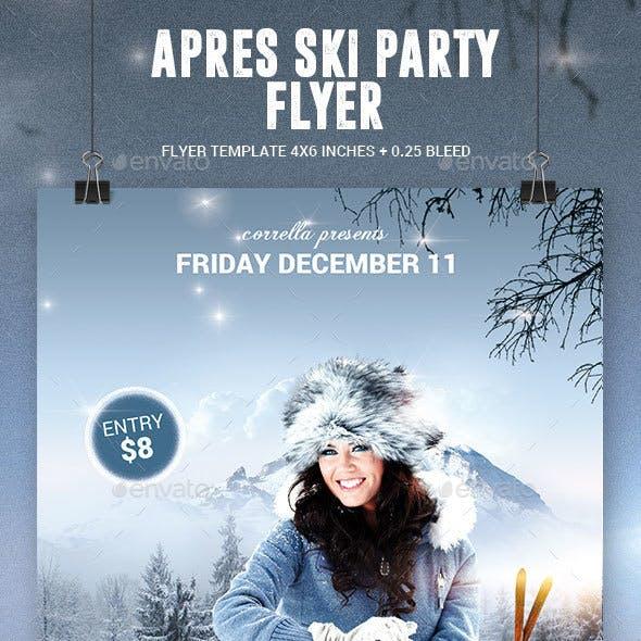 Apres Ski / Winter Party Flyer