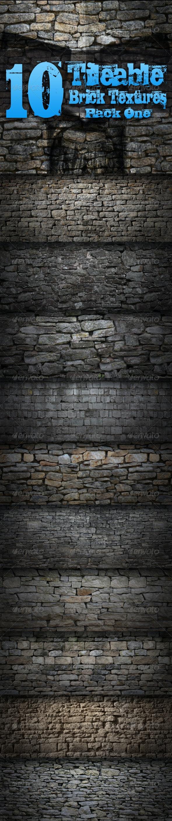 10 Tileable Brick Textures - Pack One - Miscellaneous Textures