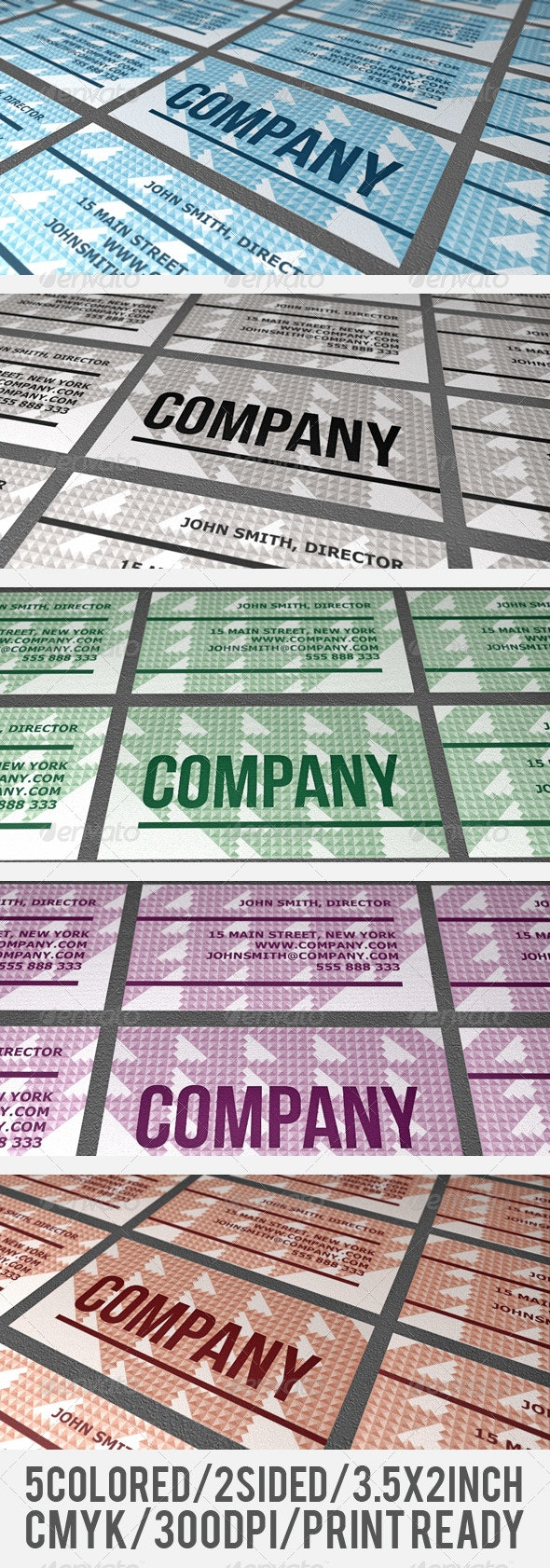 Retro Business Card - Creative Business Cards
