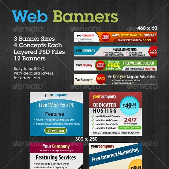 Web Banners Set 2
