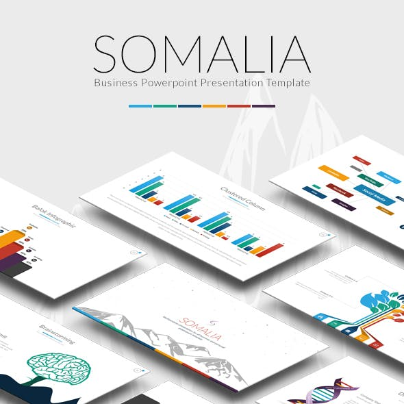 Somalia PowerpointTemplate
