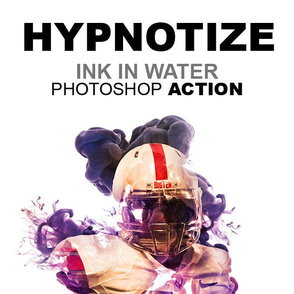 Hypnotize - Ink in Water Photoshop Action