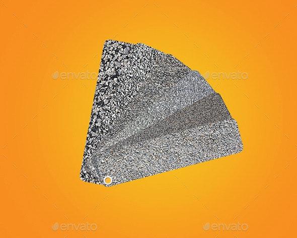 6 HD Gravel Textures - Stone Textures