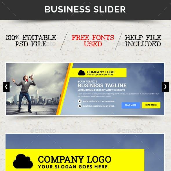 Business Slider V43