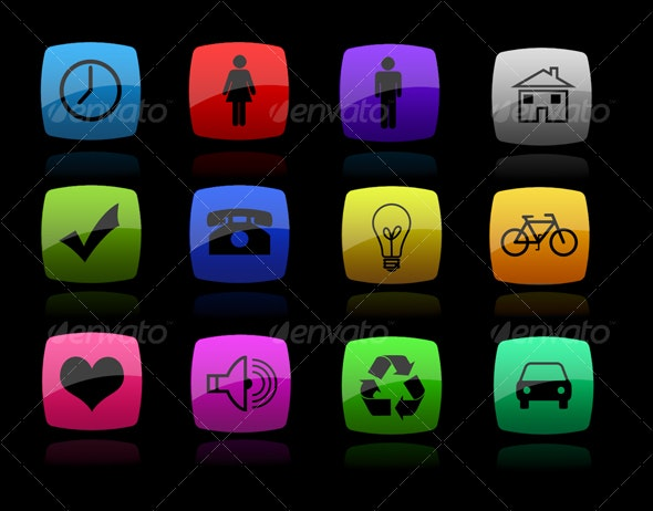 Color Icons - Web Icons