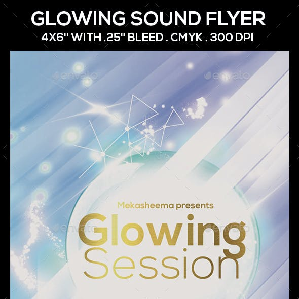 Glowing Session Flyer