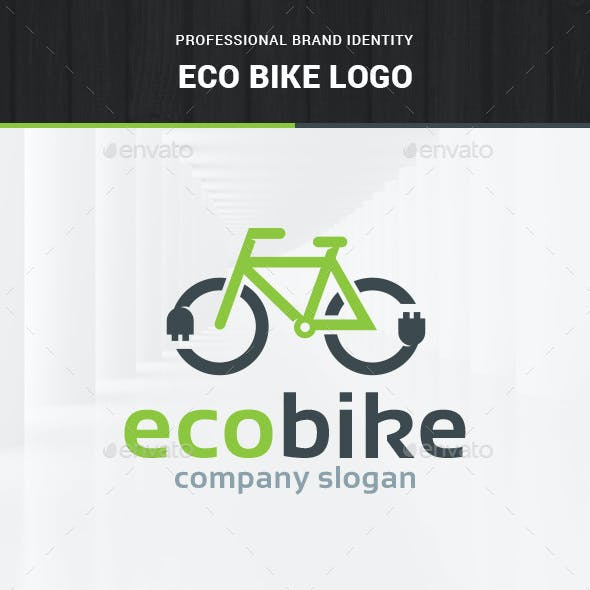 Eco Bike Logo Template