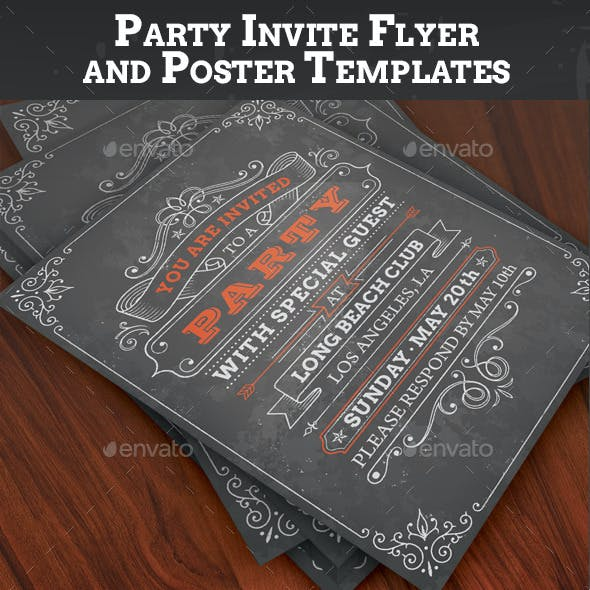 Party Invites or Posters