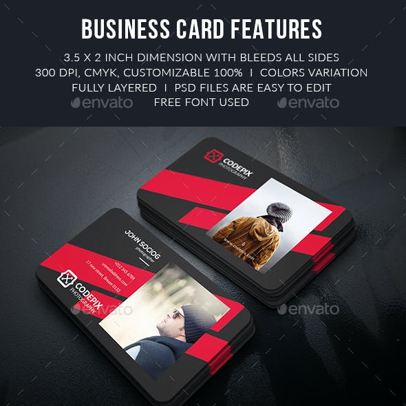 Photography Busainess Card