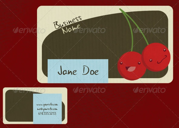 Fruity Business Cards - Creative Business Cards