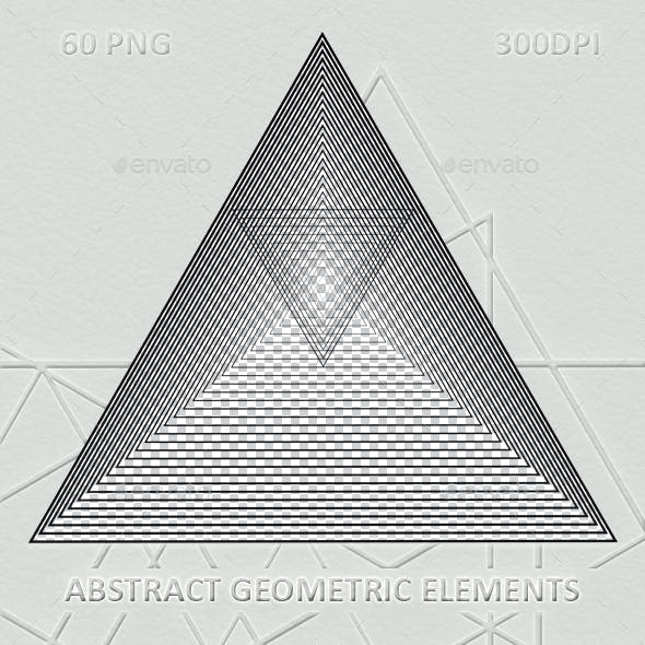 60 Abstract geometric elements