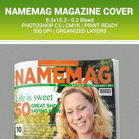New - Magazine Cover Design