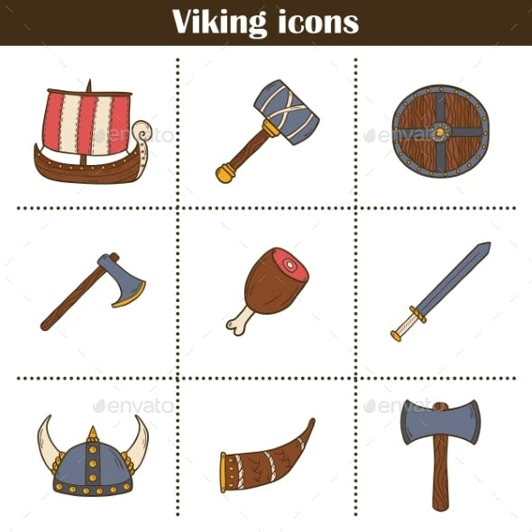 Icons On Viking Theme