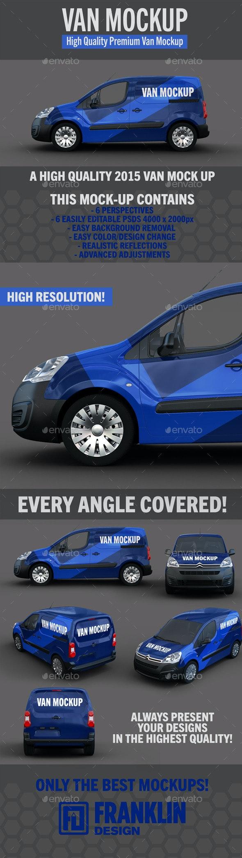 Van Mockup - Vehicle Wraps Print