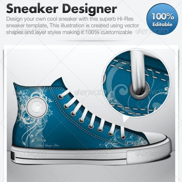 Sneaker Designer - Design Your Own Sneakers