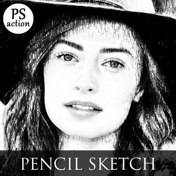 Graphic Pen Sketch Effect
