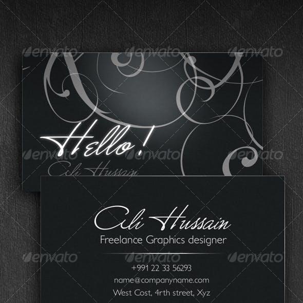 Cr8ve - Business Card