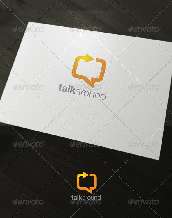 Talkaround - Humans Logo Templates
