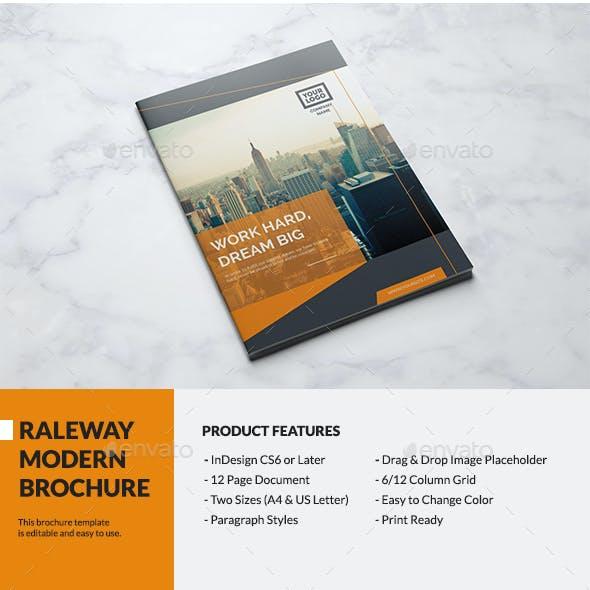 Raleway Modern Brochure