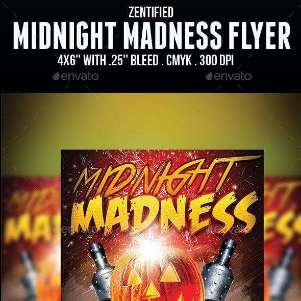 Midnight Madness Flyer