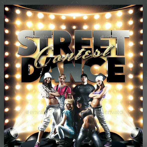 Street Dance Contest Flyer