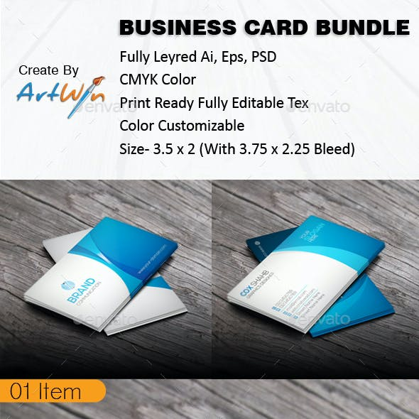 Corporate Business Card Vl 03