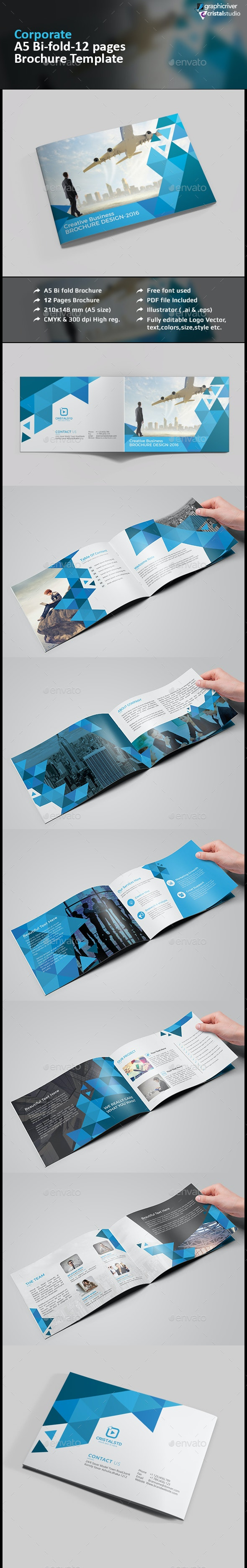 A5 Business Brochure/Catalog - Corporate Brochures