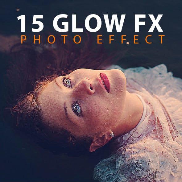 15 Glow FX Photo Effect
