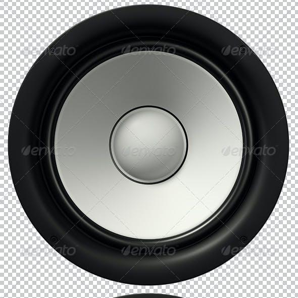 4 Loudspeakers Renders