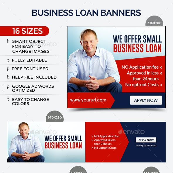 Business Loan Banners