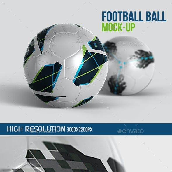 Football Ball Mockup