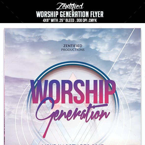 Worship Generation Flyer