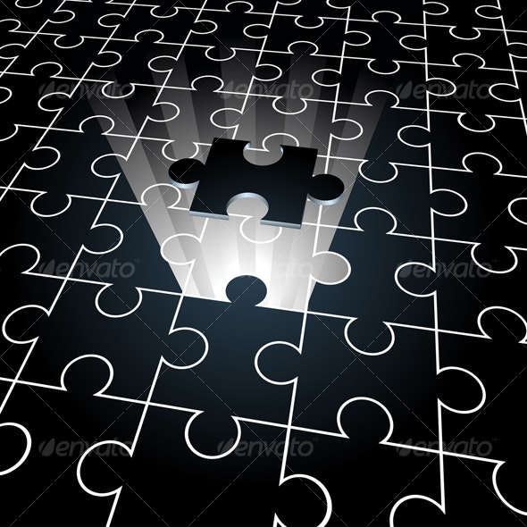 jigsaw, the missing piece - Concepts Business