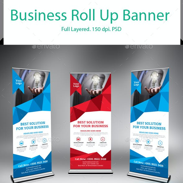 Business Roll-Up Banners