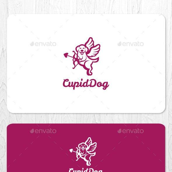Cupid Dog Logo
