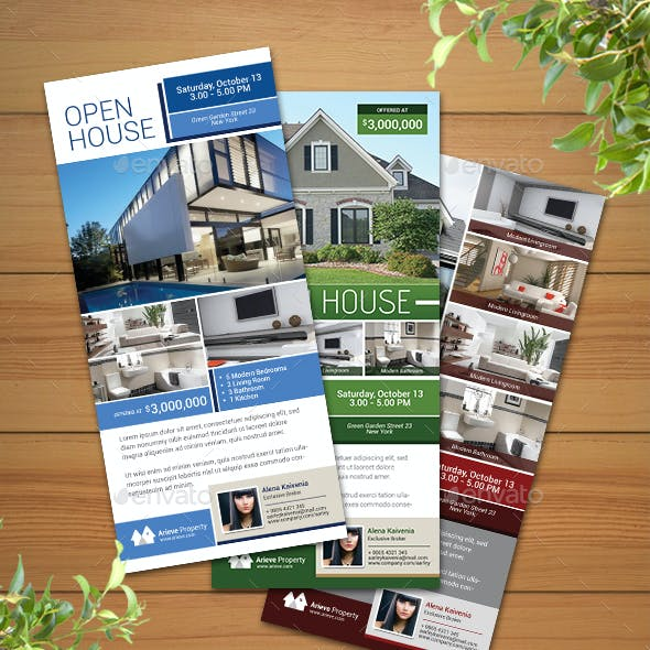 Open House / Real Estate Rack Card