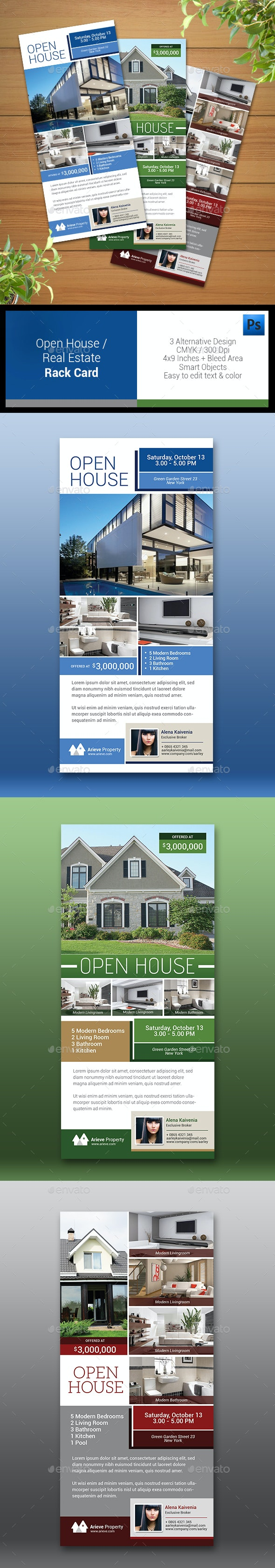 Open House / Real Estate Rack Card - Corporate Flyers